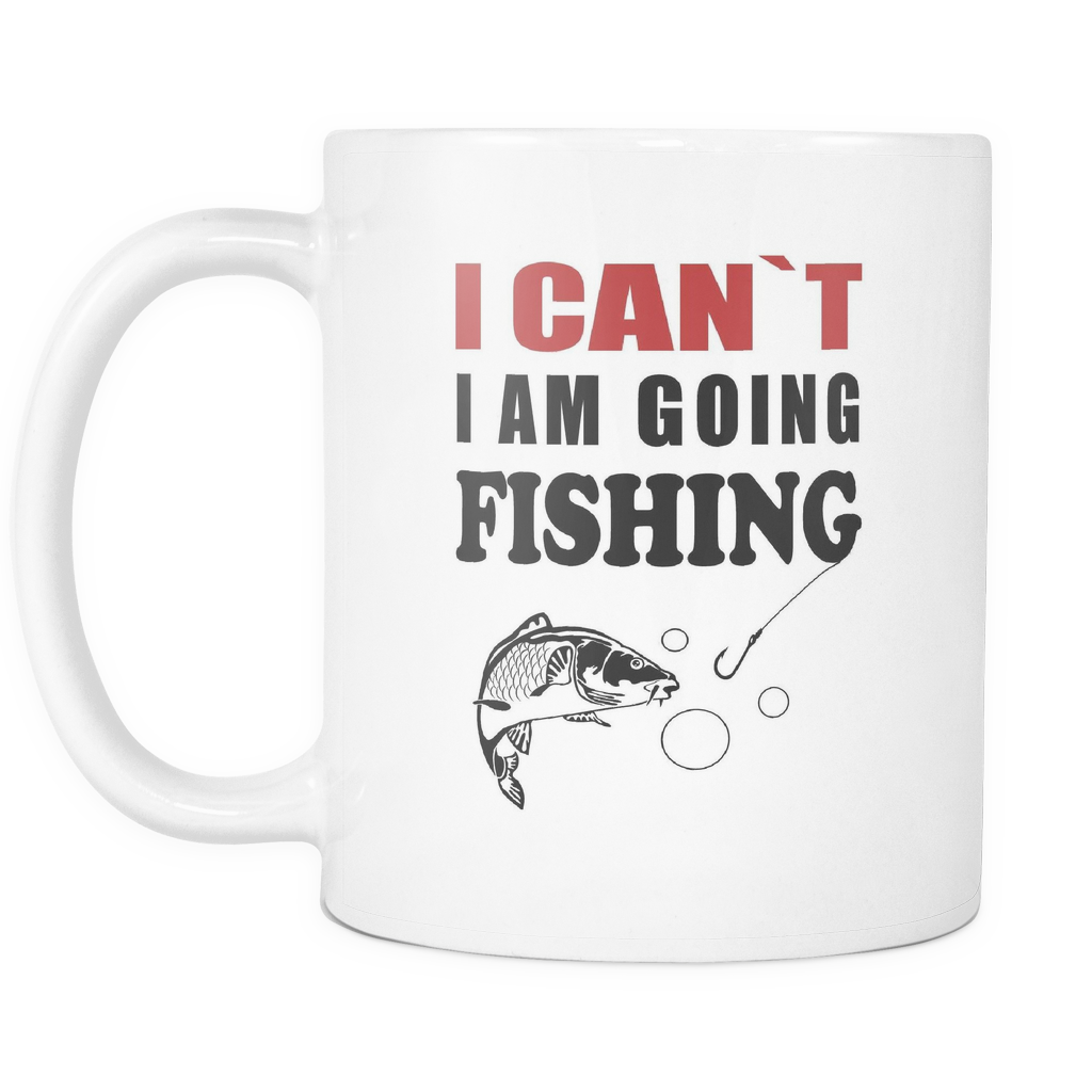 I am Going Fishing Mug