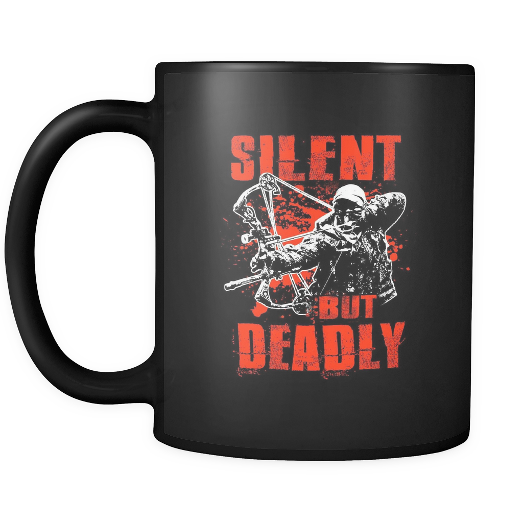 Silent But Deadly Mug For Bowhunting By Anchor That Point