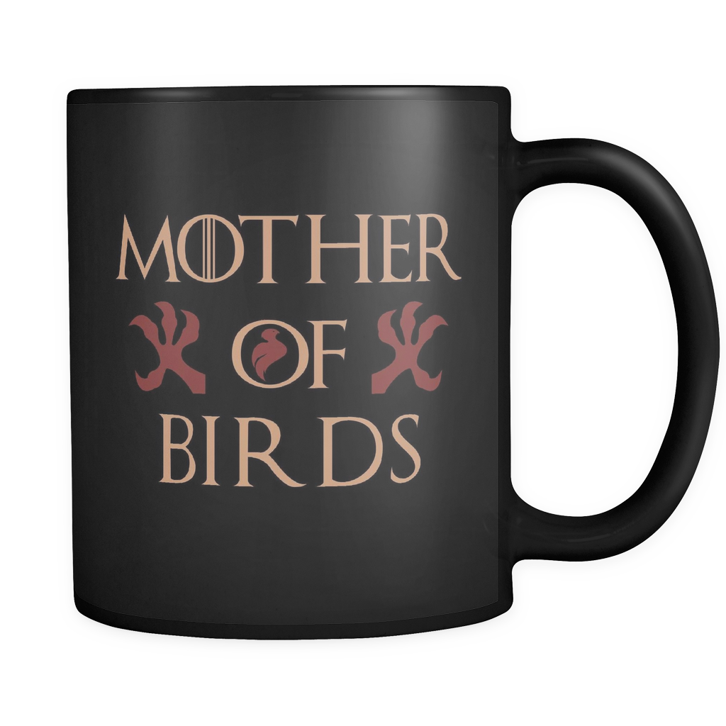 Mother Of Birds Mug Black