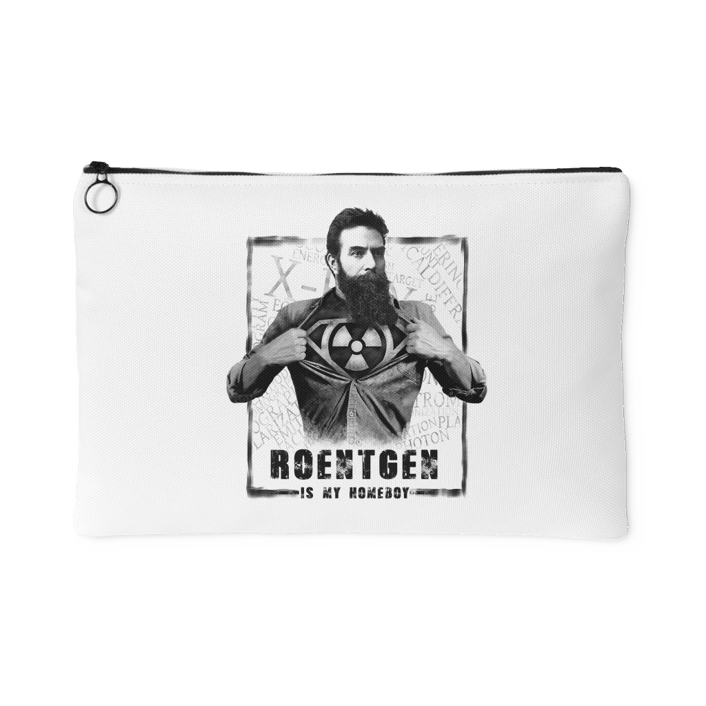 Roentgen Is My homeboy Accessory Pouch