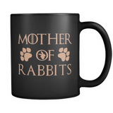 Mother Of Rabbits Mug Black