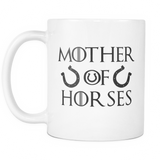 Mother Of Horses Mug White