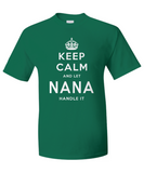 Nana Keep Calm Shirt