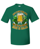 Beer Salad Shirt
