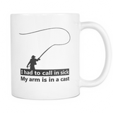 Fishing Mug Call In Sick