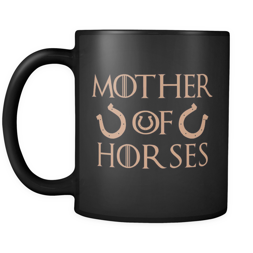 Mother Of Horses Mug Black