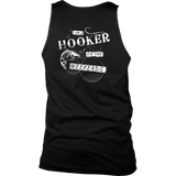 I'm A Hooker On The Weekends - Back Print - Funny Fishing Shirt Gift