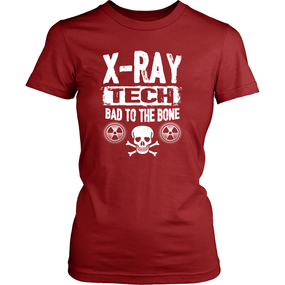 X-Ray Tech Bad To The Bone Shirts For Women