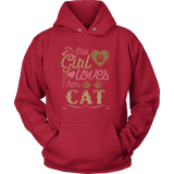 This Girl Loves Her Cat - Cat Shirt Cat Gift Mother's Day Gift