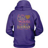 This Girl Loves Her Birman Cat - Cat Lover Shirt Gift