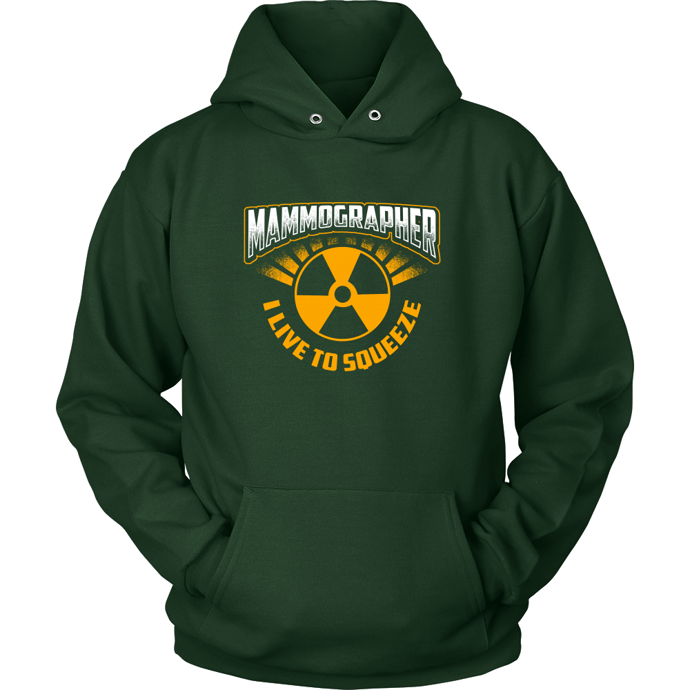 Mammographer - I Live To Squeeze Hoodie & Sweater