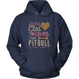 This Girl Loves Her Pit Bull Pitbull Shirt