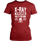 X-Ray Techs - Bad To The Bone Shirts For Women
