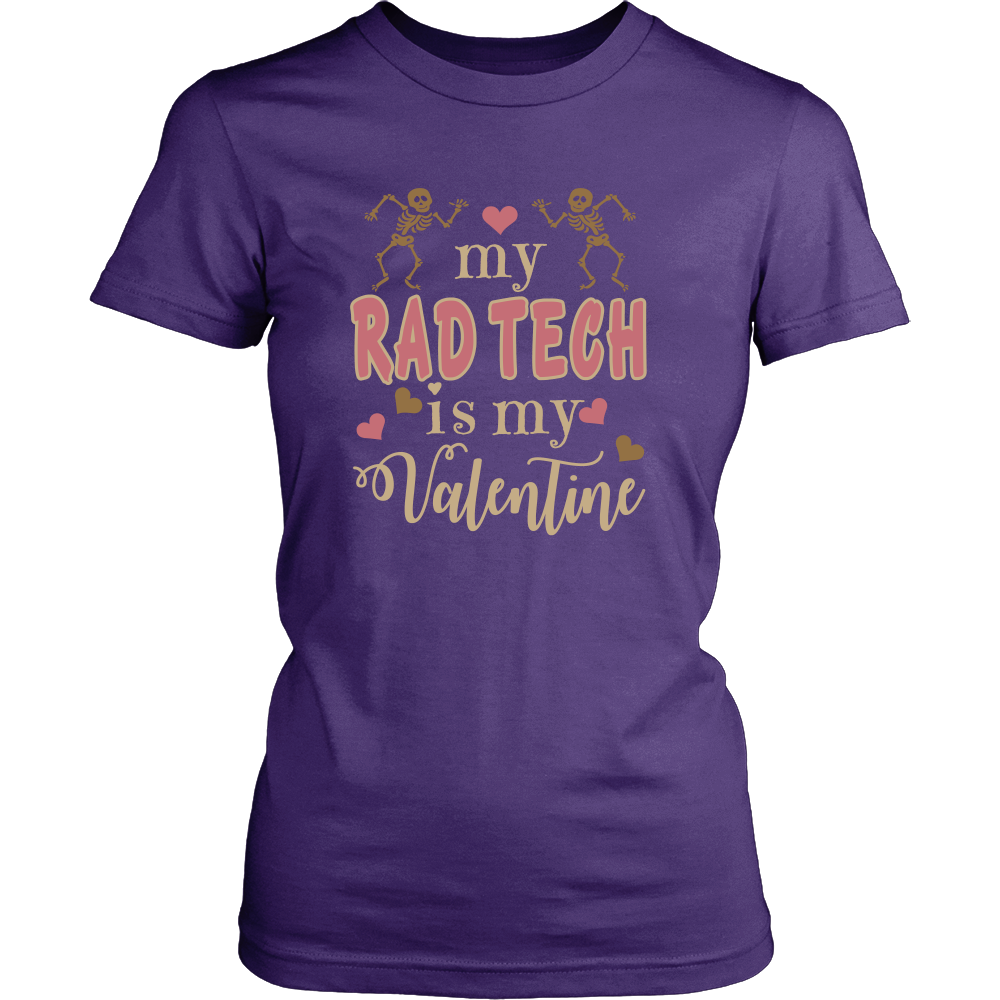 My Rad Tech Is My Valentine - X-Ray Valentine's Day Shirt