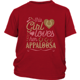 This Girl Loves Her Appaloosa - Horse Lover Shirt Gift