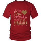 This Girl Loves Her Himalayan - Cat Lover Shirt And Gift