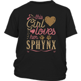 This Girl Loves Her Sphynx - Cat Lover Shirt And Gift