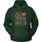 This Girl Loves Her Shih Tzu - Dog Lover Shirt Gift