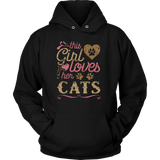 This Girl Loves Her Cats - Cat Shirt Cat Gift Mother's Day Gift
