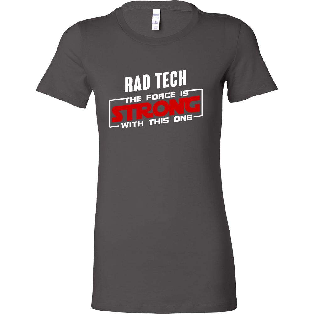 Rad Tech - The Force Is Strong With This One Sith Shirts For Women