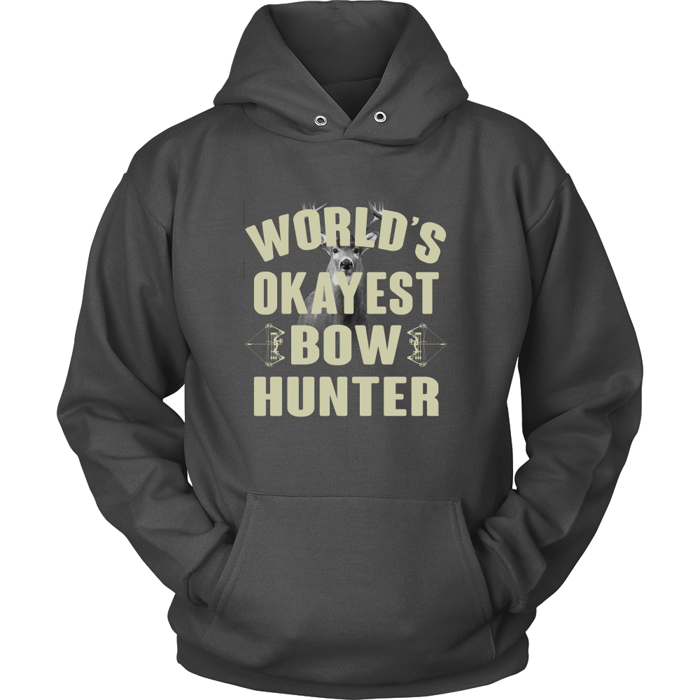 World's Okayest Bowhunter - Bowhunting Shirt Gift For Bowhunters