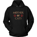 Mother Of Cats Color - Game Of Thrones Parody - Mother's Day Gift