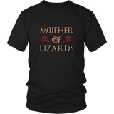 Mother Of Lizards - Lizard Lover Shirt Bearded Dragon Skink Gecko Gift Game Of Thrones Parody