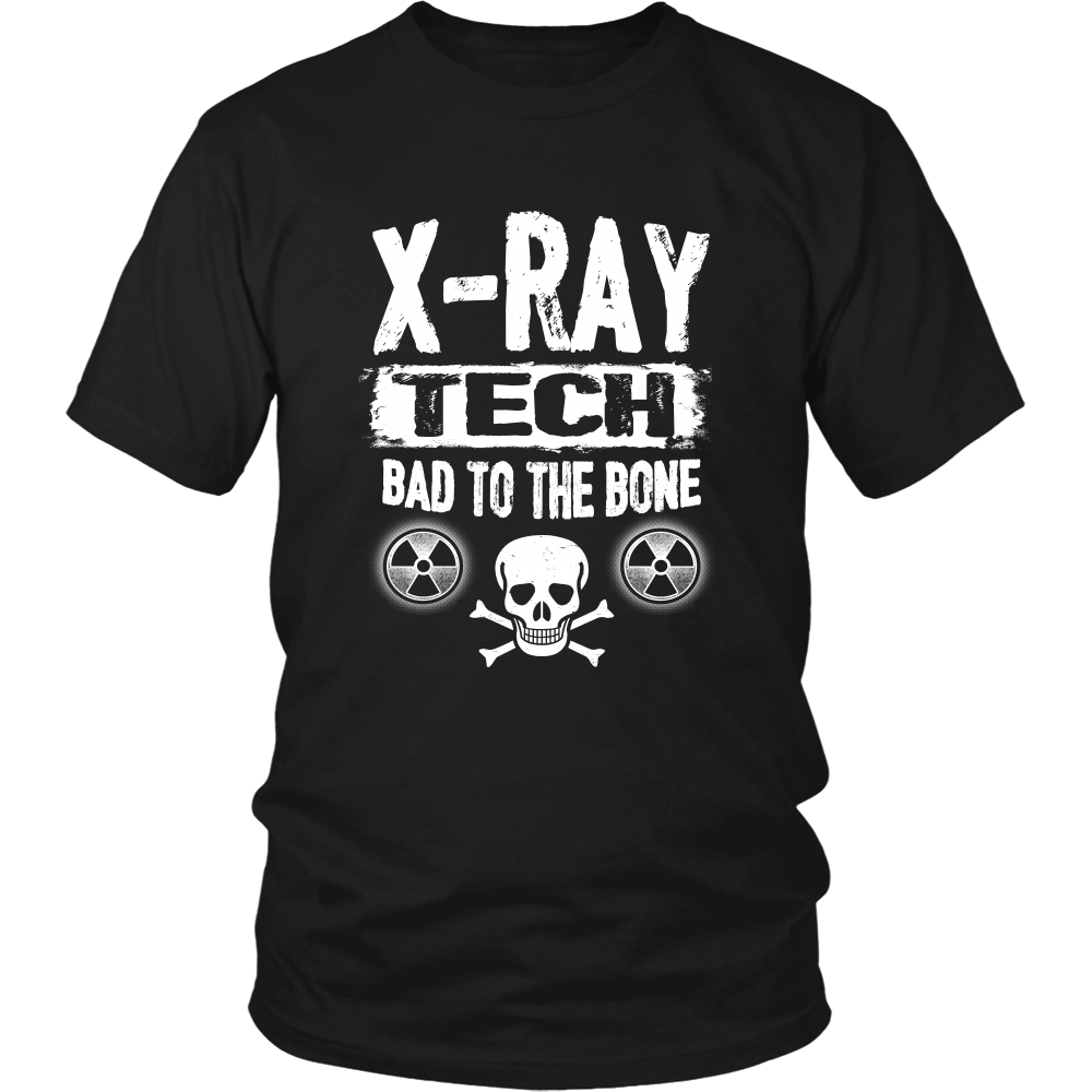 X-Ray Tech Bad To The Bone Shirts For Men