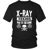 X-Ray Techs - Bad To The Bone Shirts For Men