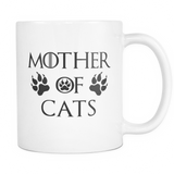 Mother Of Cats Mug White