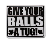 Give Your Balls A Tug!