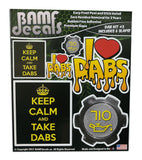 Dab Kit #3 Includes 6 Premium Printed Slaps