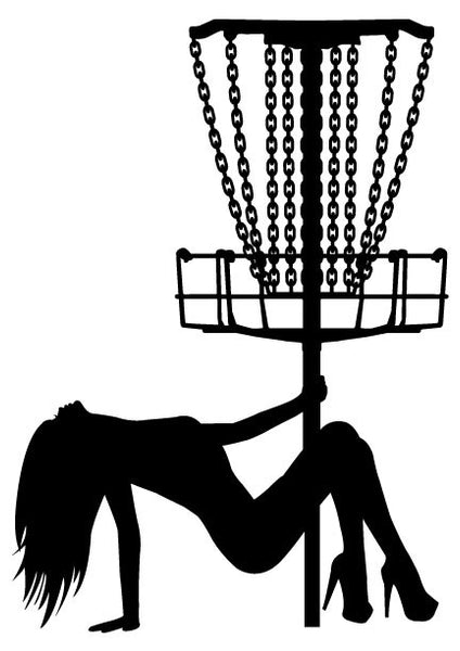 Laid Back Stripper Basket Decal w/ Detailed Chains Mach 3 Style