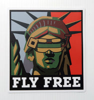 Fly Free with Lady Liberty
