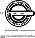 Laughing Man GITS Vinyl Decal