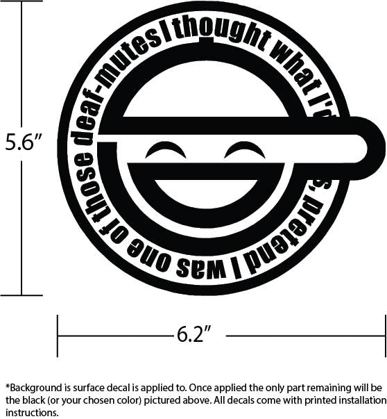 Laughing Man Gits Vinyl Decal Bamfdecals