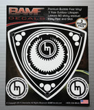 Vintage Rotary Decal Kit w/ Old School Mazda M - Includes 3 Premium Stickers