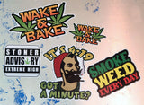 Stoner Kit #5 - Includes 5 individual stickers