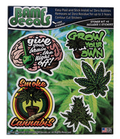 Stoner Kit #6 - Includes 5 individual stickers