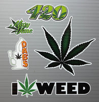 Stoner Kit #2 - Includes 5 Premium Printed Slaps