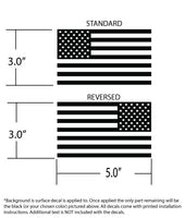USA Subdued Flag Double Kit - Fighting Forward and Regular - 50 Detailed Stars - Available in 14 colors and 4 sizes!