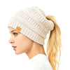 25 Women Merino Wool Beanie Scarves Fox Fur Pom