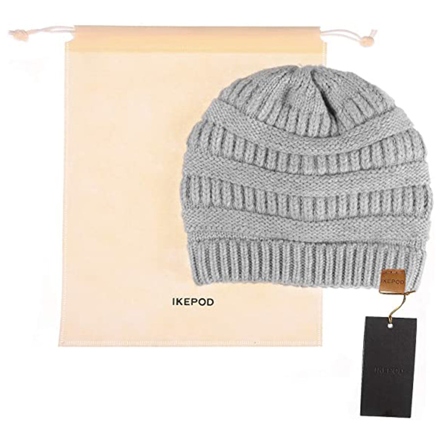 23.IKEPOD Knit Hat Scarf Set