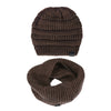 26 Merino Wool Winter Warm Beanie Circle Loop Scarves