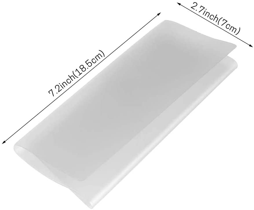 IKEPOD Checkbook Frosted Vinyl Protectors Dividers