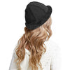 27.IKEPOD Australia Shearing Sheepskin Lined Suede Bucket Hat Winter