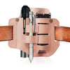 2.IKEPOD EDC Full Grain Leather Sheath for Belt