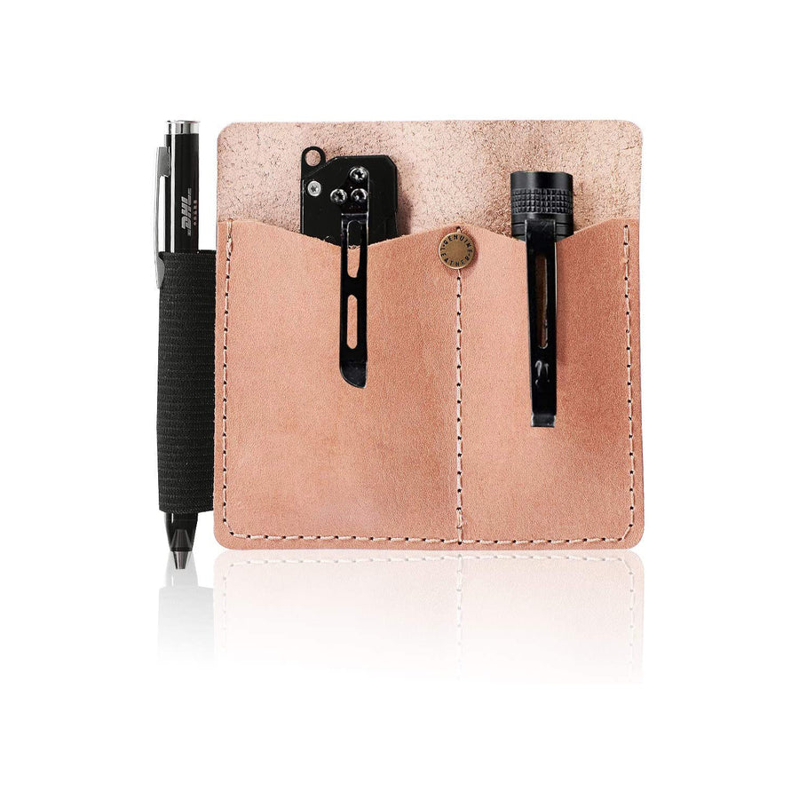 17.IKEPOD EDC Full Grain Leather Sheath