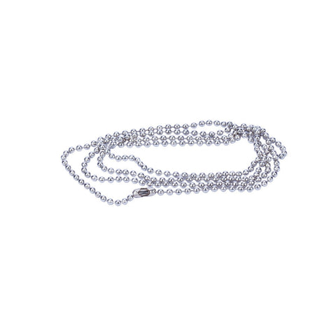 Necklace Nickel Ball Chain - 760mm