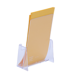 Leaflet Holders - Crystal Clear